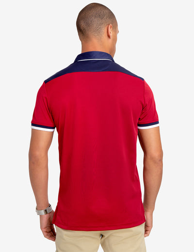 SLIM FIT PERFORMANCE POLO SHIRT - U.S. Polo Assn.