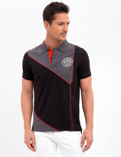 SLIM FIT STRETCH COLORBLOCK POLO SHIRT - U.S. Polo Assn.