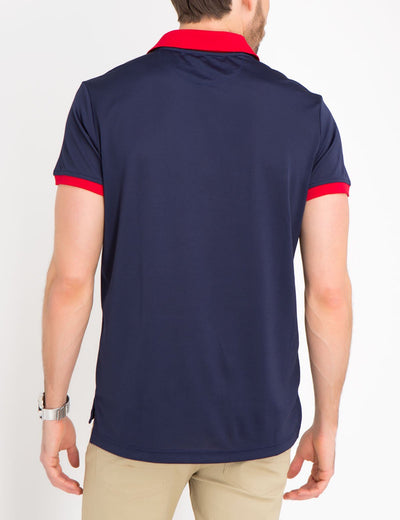 SLIM FIT COLORBLOCK POLO SHIRT - U.S. Polo Assn.