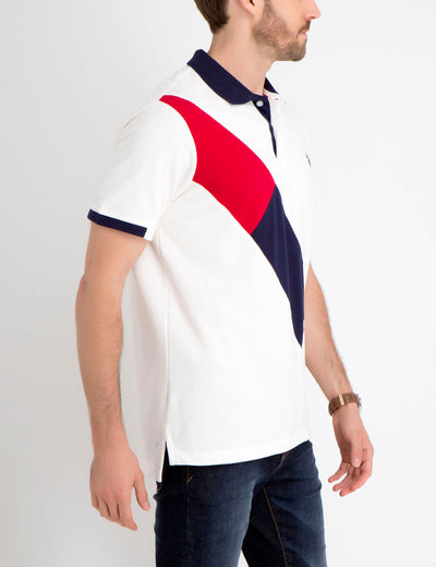 DIAGONAL POLO SHIRT