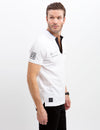 BLACK MALLET REFLECTIVE PATCH POLO SHIRT - U.S. Polo Assn.