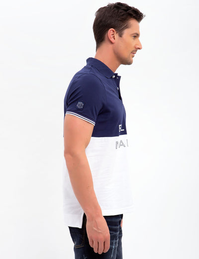 BLACK MALLET SLIM FIT STRETCH PIQUE POLO SHIRT