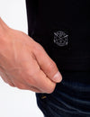 BLACK MALLET POLO SHIRT - U.S. Polo Assn.