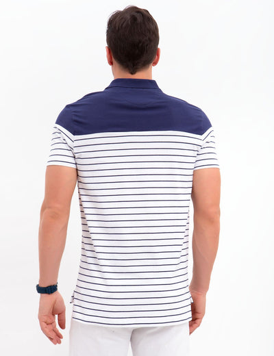 SLIM FIT STRETCH JERSEY POLO SHIRT