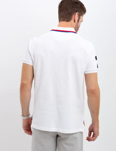 DIAGONAL STRIPE POLO SHIRT - U.S. Polo Assn.