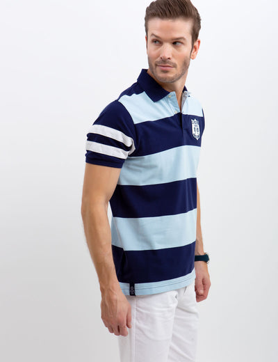 PATCH RUGBY POLO SHIRT - U.S. Polo Assn.