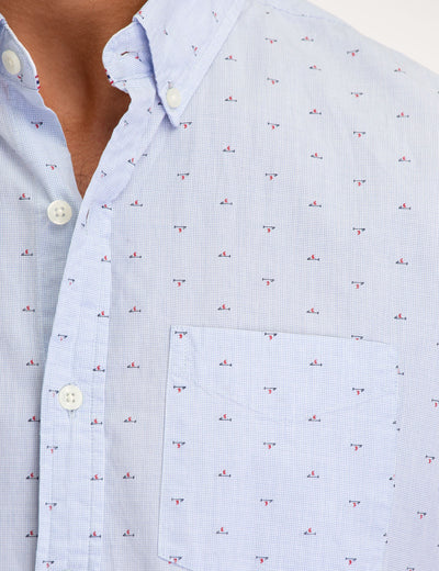 ALL OVER MALLET PRINT SHORT SLEEVE SHIRT - U.S. Polo Assn.