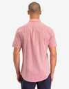 HORIZONTAL STRIPE DOBBY SHORT SLEEVE SHIRT - U.S. Polo Assn.
