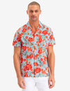 FLORAL PRINT CAMP SHIRT - U.S. Polo Assn.