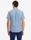 ALL OVER LOGO PRINT SHORT SLEEVE SHIRT - U.S. Polo Assn.
