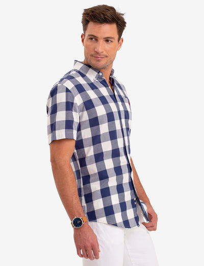 BUFFALO CHECK SHORT SLEEVE SHIRT - U.S. Polo Assn.