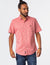 SOLID SLUB CANVAS SHORT SLEEVE SHIRT - U.S. Polo Assn.