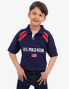 BOYS U.S. POLO ASSN. PIQUE POLO SHIRT - U.S. Polo Assn.