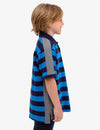 BOYS STRIPED COLORBLOCK PIQUE POLO SHIRT - U.S. Polo Assn.