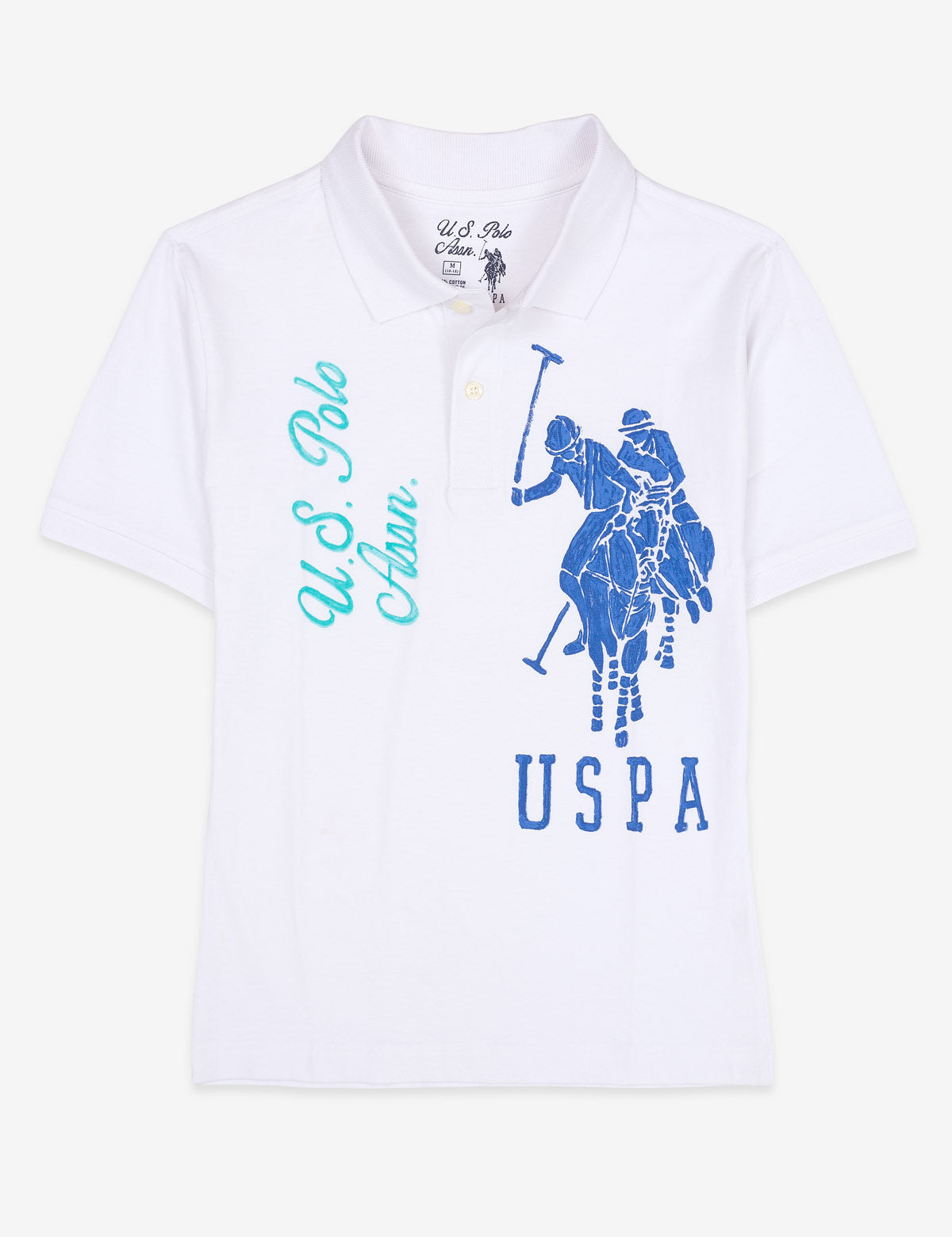 BOYS BIG LOGO POLO SHIRT - U.S. Polo Assn.