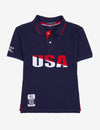 BOYS USPA USA CHEST LOGO POLO SHIRT - U.S. Polo Assn.