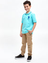 BOYS SOLID POLO SHIRT