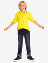 BOYS INTERLOCK POLO SHIRT - U.S. Polo Assn.