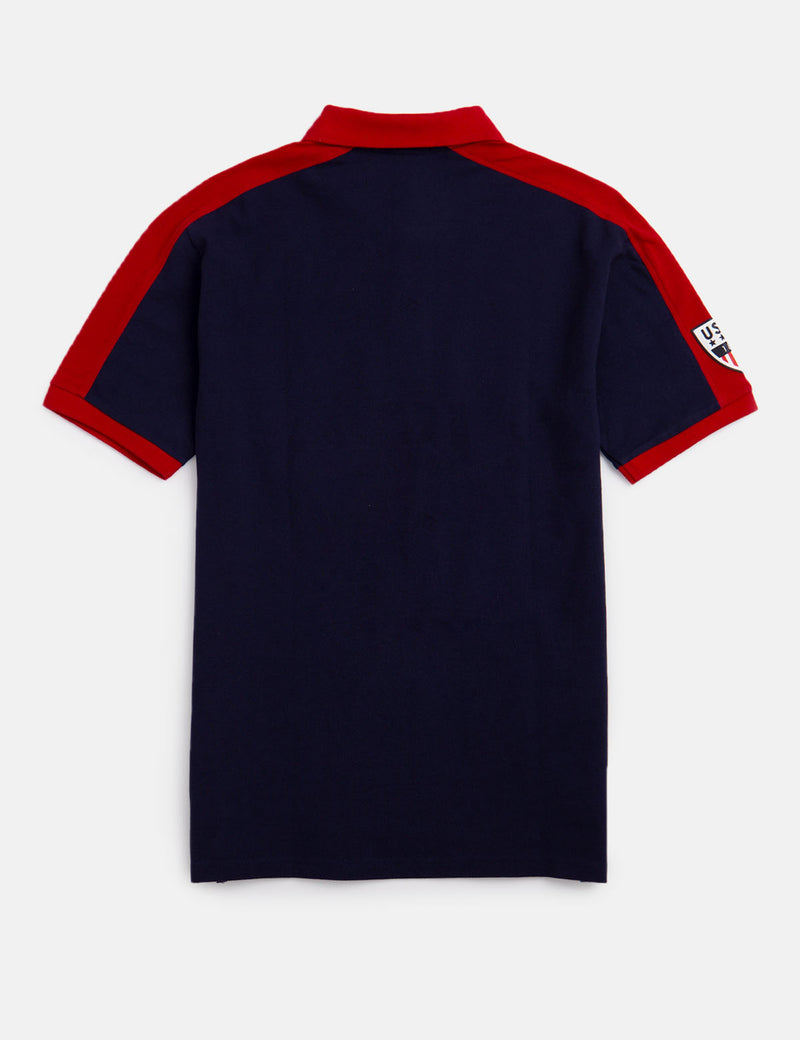 BOYS COLORBLOCK POLO SHIRT