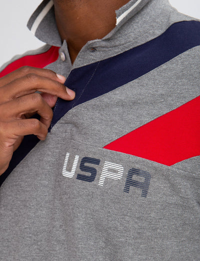 USPA COLORBLOCK POLO SHIRT - U.S. Polo Assn.