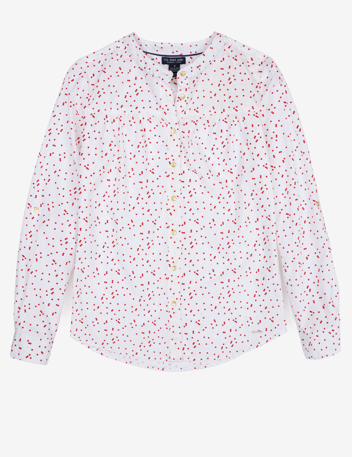 ALL OVER PRINT LONG SLEEVE SHIRT - U.S. Polo Assn.