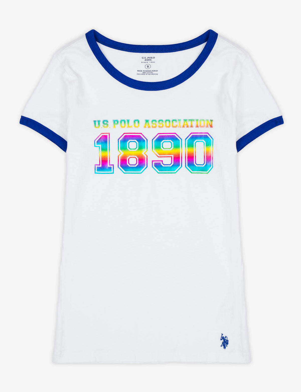USPA 1890 RAINBOW GRAPHIC T-SHIRT - U.S. Polo Assn.