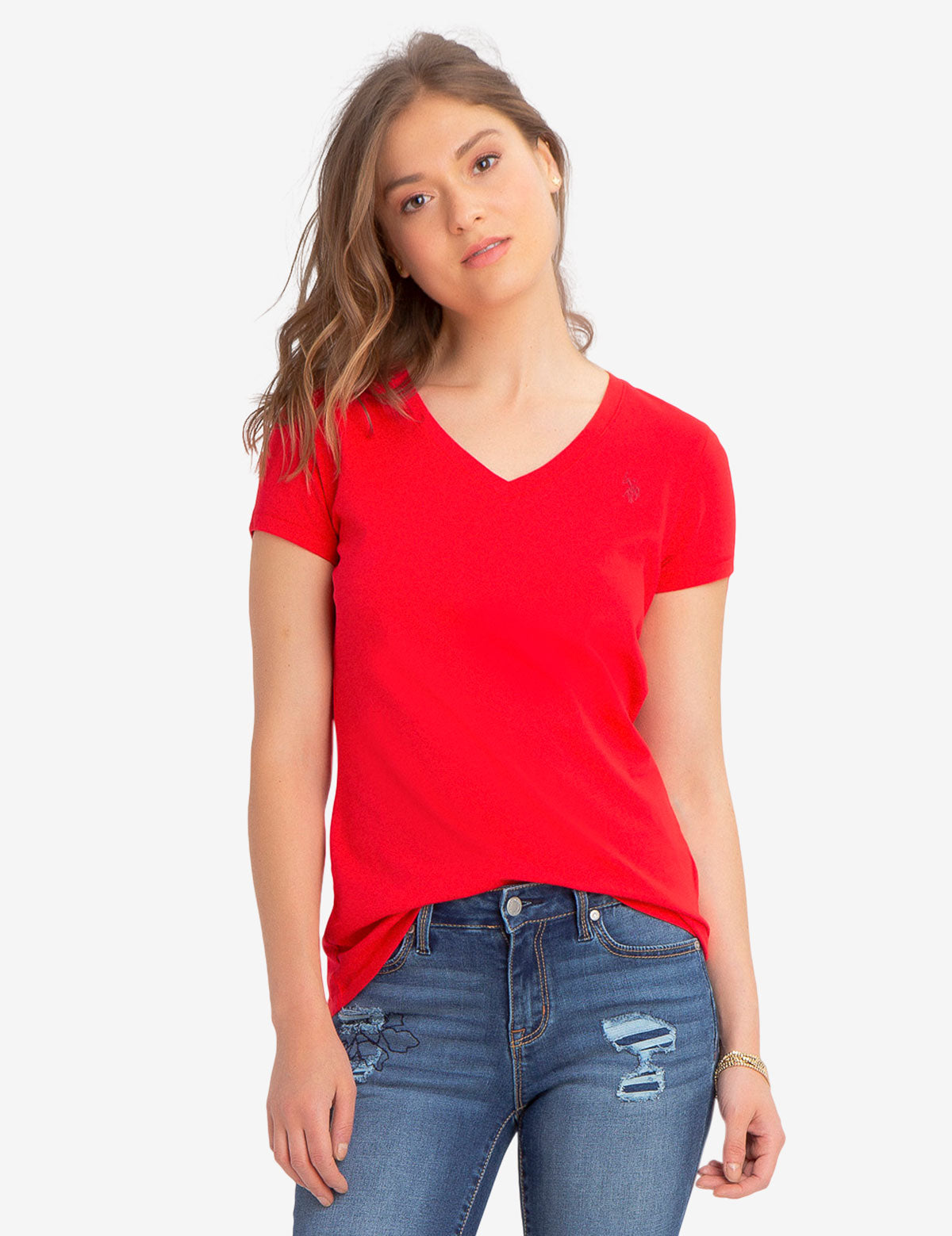 V NECK TEE - U.S. Polo Assn.