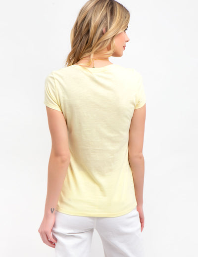 Scoop Neck Tee-Shirt