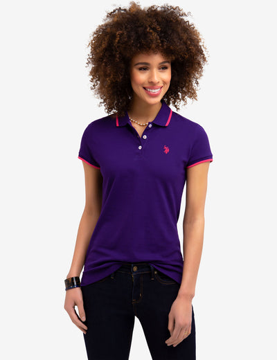 TIPPED POLO SHIRT - U.S. Polo Assn.
