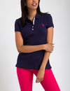 STRETCH INTERLOCK POLO SHIRT - U.S. Polo Assn.