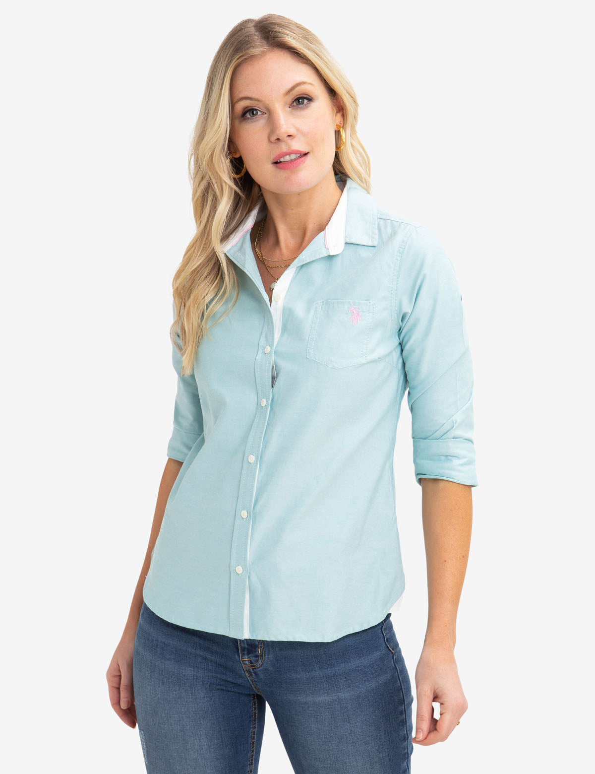 Solid Oxford Shirt - U.S. Polo Assn.