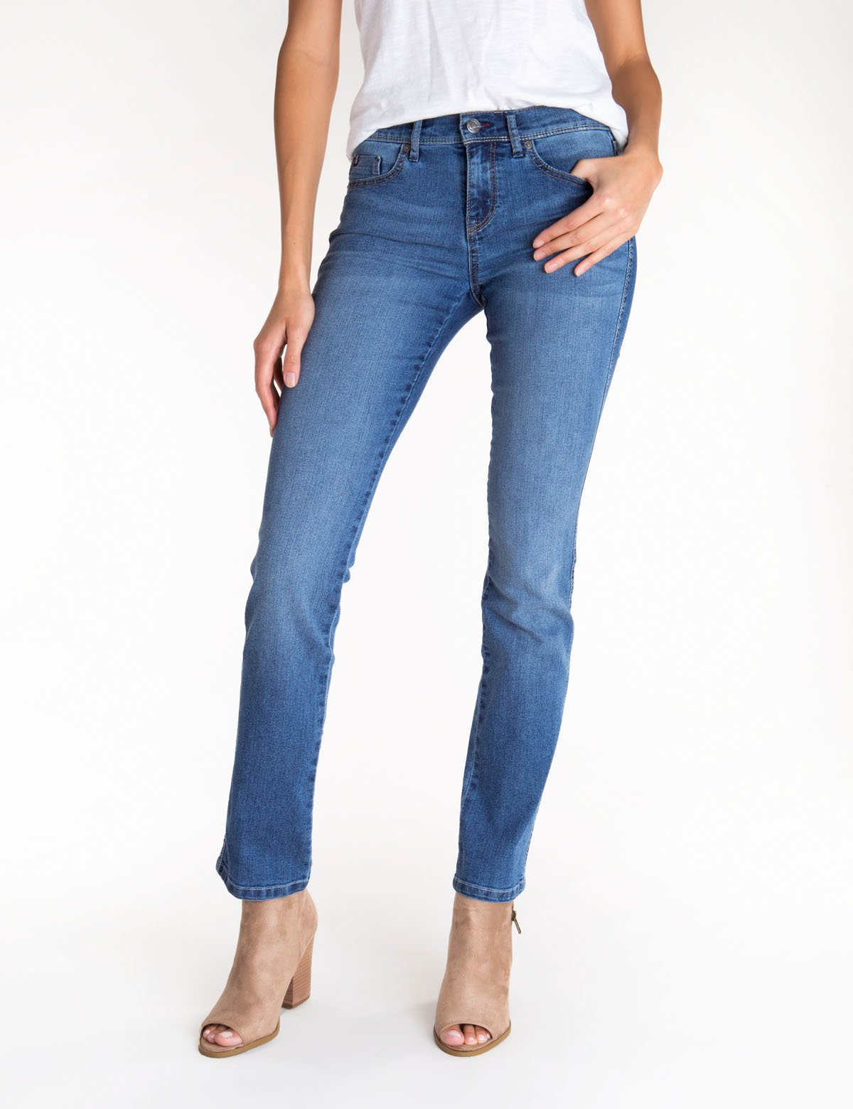 Stretch Straight Fit Jean