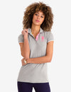 STRETCH BIG LOGO TIPPED POLO SHIRT - U.S. Polo Assn.