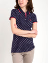 PREMIUM MULTI DOT POLO SHIRT