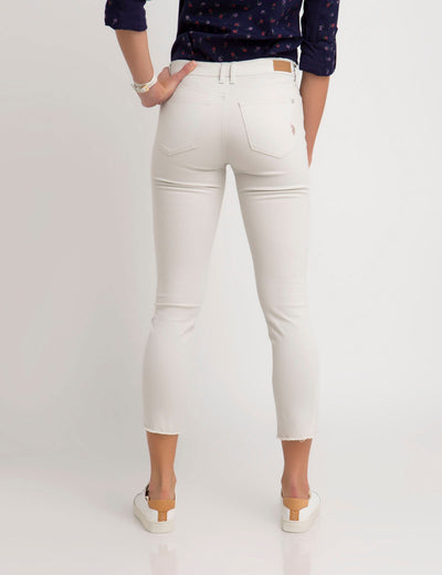 DESTRUCTED SKINNY PANTS