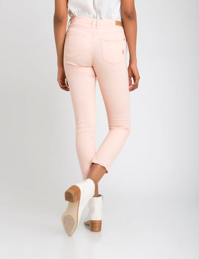 DESTRUCTED SKINNY PANTS - U.S. Polo Assn.