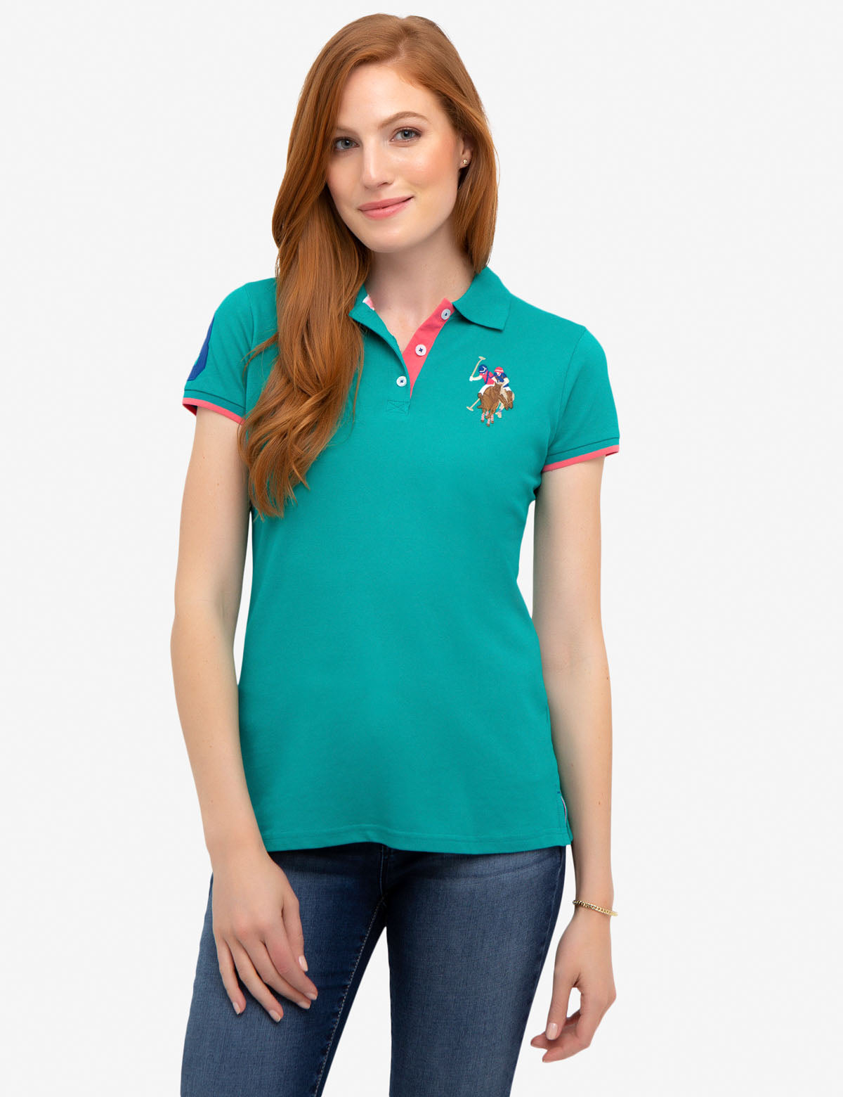 MULTI COLOR PIQUE POLO SHIRT