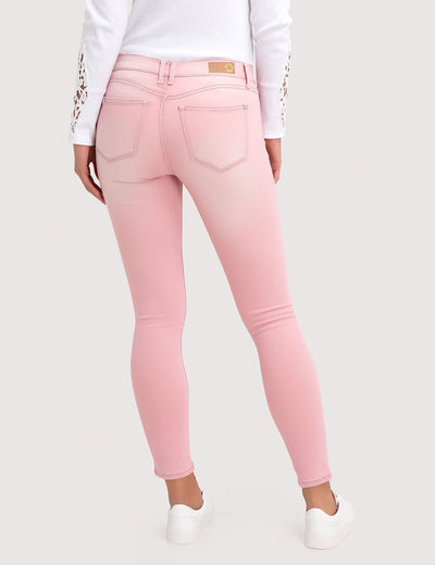 STRETCH COLORED DENIM SUPER SKINNY JEANS