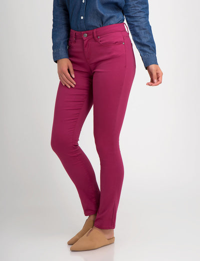 STRETCH SATEEN SKINNY PANT