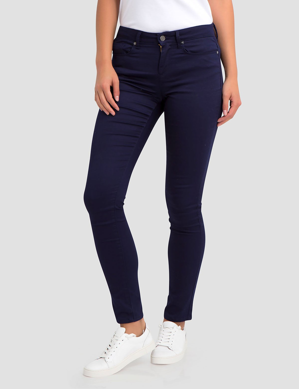 STRETCH SATEEN SKINNY PANT - U.S. Polo Assn.