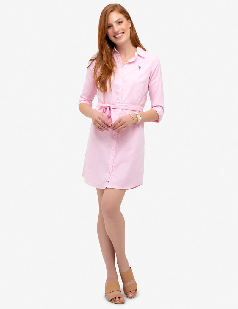 SOLID OXFORD DRESS