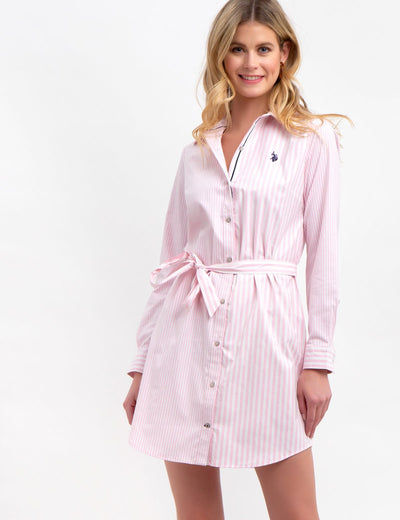 STRIPED OXFORD DRESS - U.S. Polo Assn.