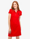 TIPPED POLO DRESS - U.S. Polo Assn.