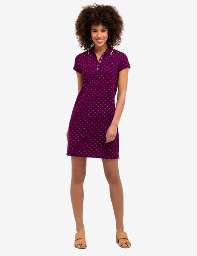 DOT POLO DRESS