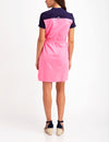 BELTED COLORBLOCK POLO DRESS - U.S. Polo Assn.