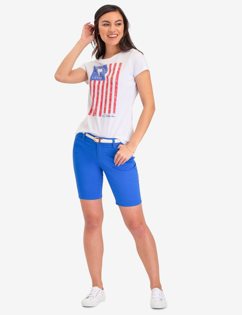 VERTICAL FLAG GRAPHIC T-SHIRT - U.S. Polo Assn.