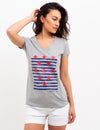 STAR STRIPED TEE