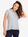 PLEATED BACK POLO SHIRT - U.S. Polo Assn.