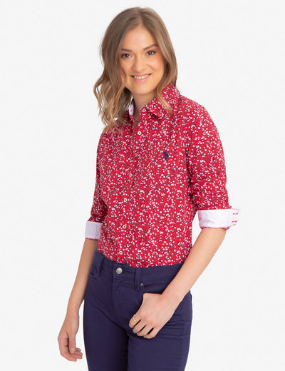 FLORAL PRINTED SHIRT - U.S. Polo Assn.