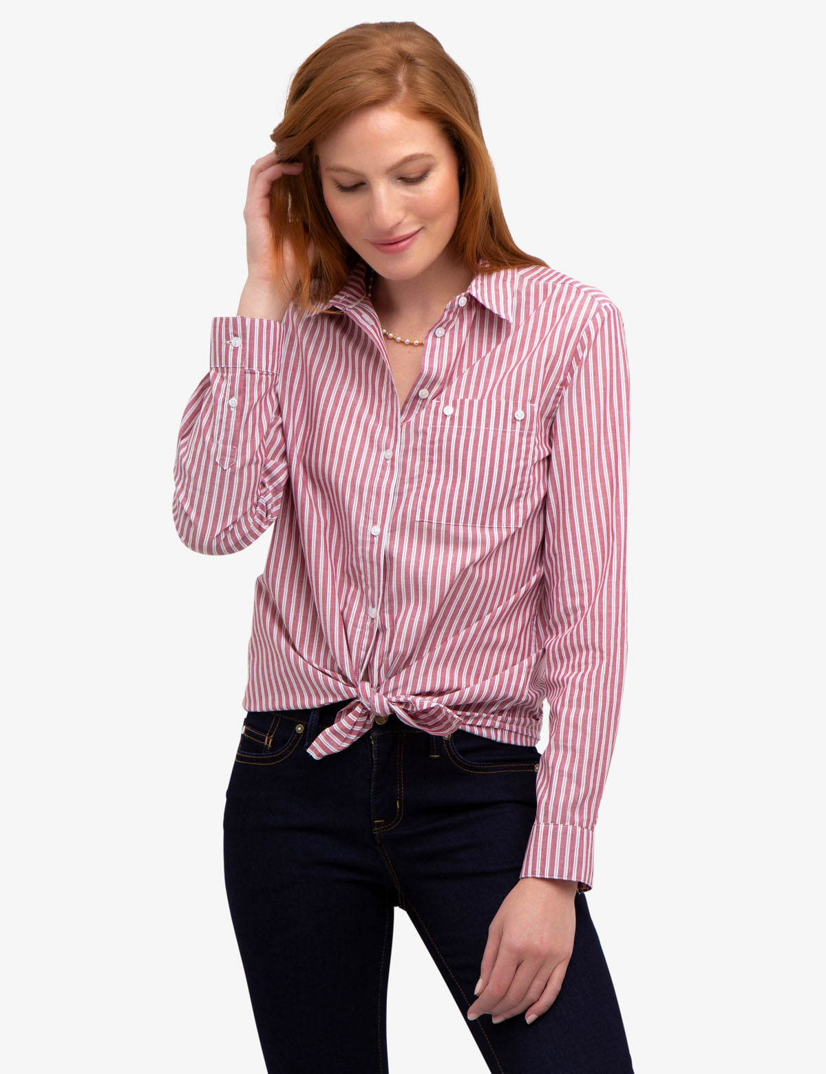 STRIPED POCKET SHIRT